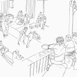 Weimin's Joe and Zara sketch