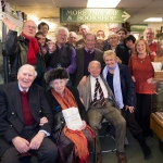 With Colin Dexter in Antiques on High on the anniversary of Oxford Castaways