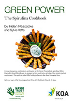 Green Power: The Spirulina Cookbook by Helen Peacocke and Sylvia Vetta